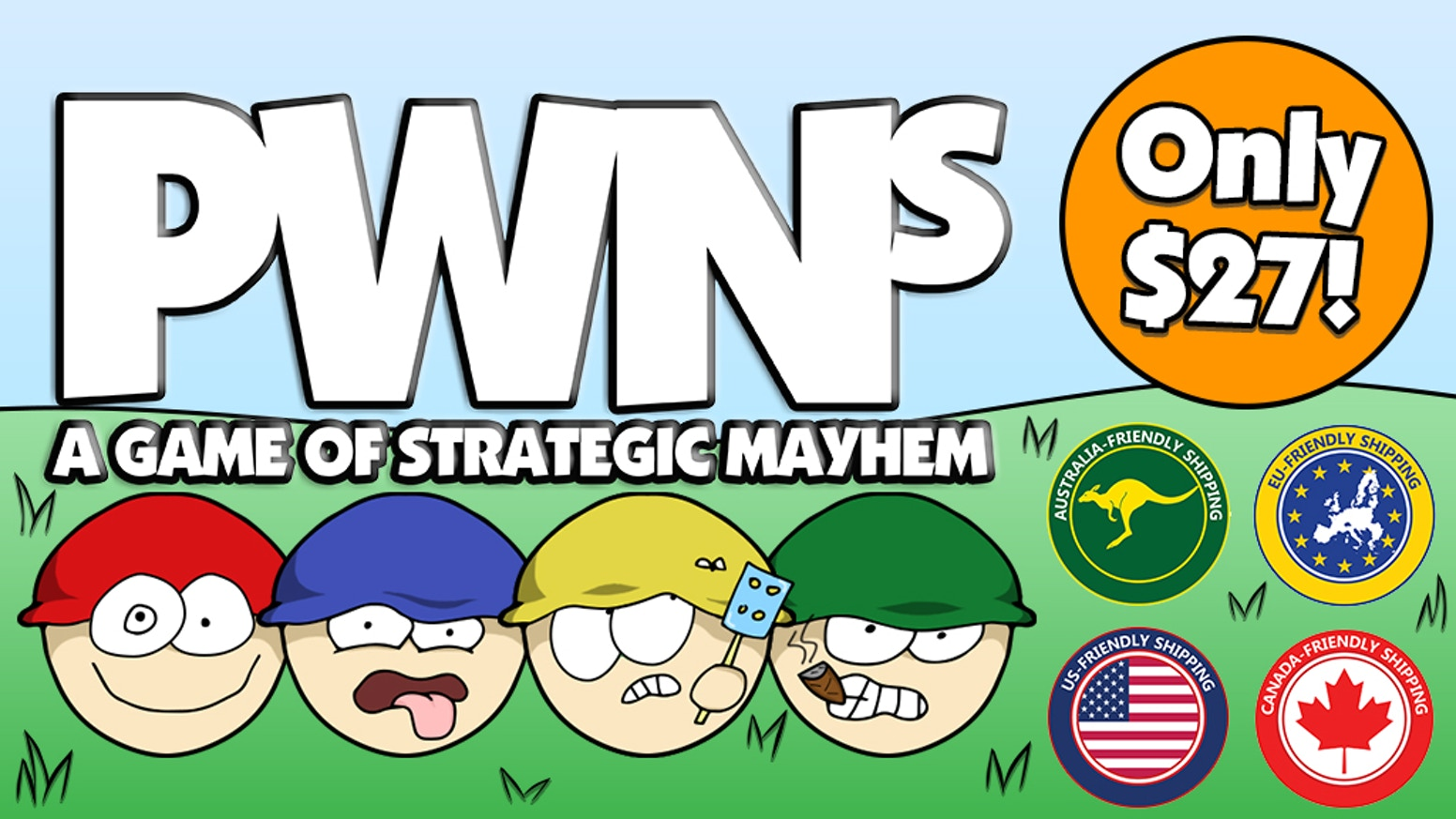 The ultimate, easy-to-learn strategy game you will never play the same way twice!