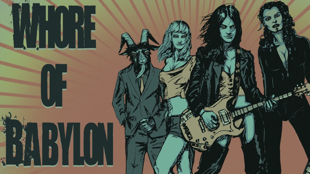 WHORE OF BABYLON | A Horror/Grindhouse Graphic Novel project video thumbnail