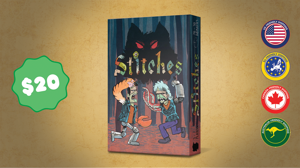 Stitches - A Card Game of Monstrous Proportions project video thumbnail