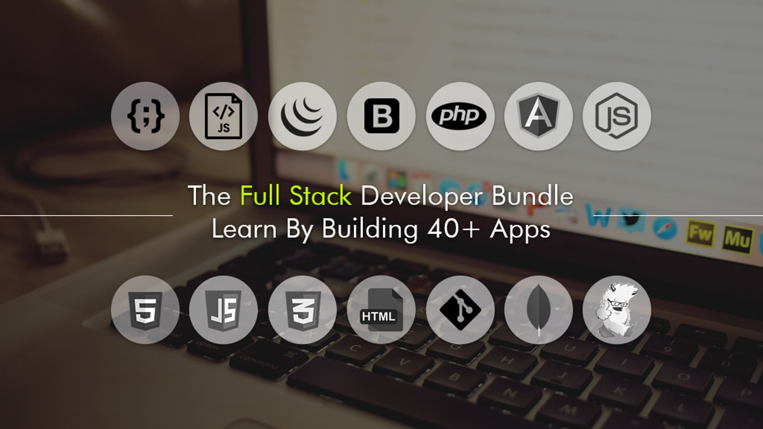 the full stack developer bundle learn by building 40