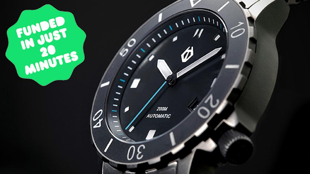Hamtun Watches - H1: Grade 5 titanium automatic dive watch project video thumbnail