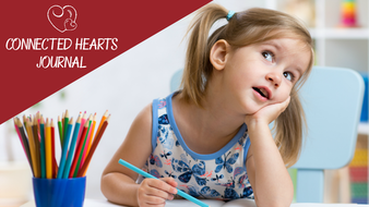 Connected Hearts Journal: Fun Kids Memoir. Smart Parent Tool