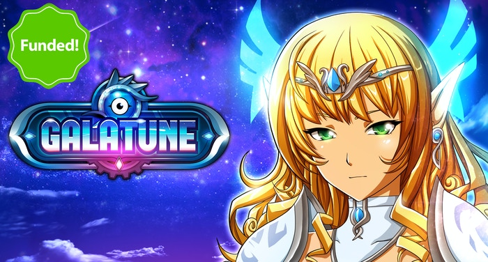 Galatune is a battle card game that plays like a videogame! 5 players attack simultaneously and respawn to fight for KOs!