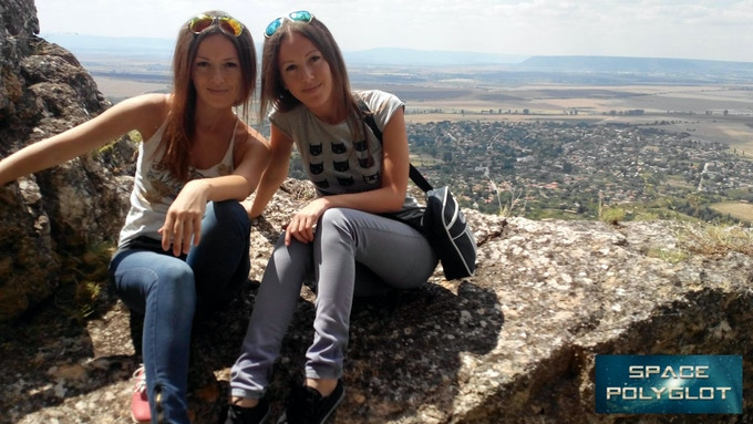 Valeria and Stanislava - the twin sisters graphic designers