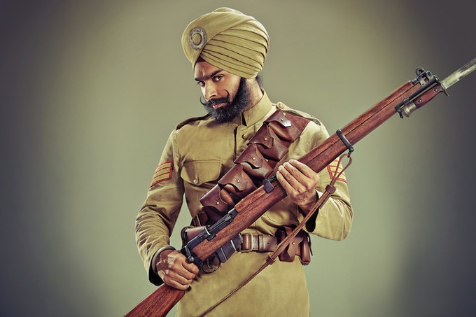 Jasdeep Singh - Project officer, National Army Museum