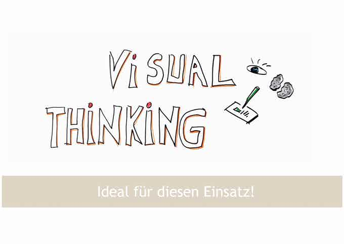 Visual Thinking is part of the idea.