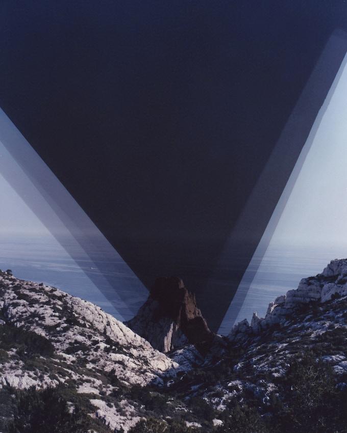 "Terrain IV. 2015. unique c-print & original text. 8 x 10"""