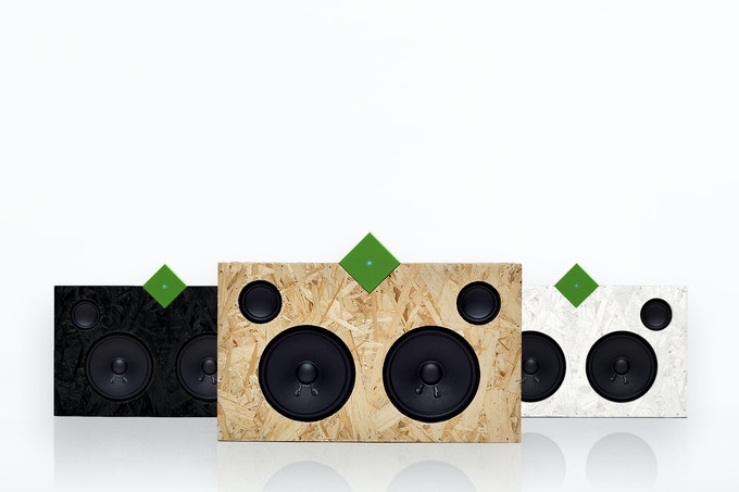 The Vamp Speaker will be available in natural, white, and black.
