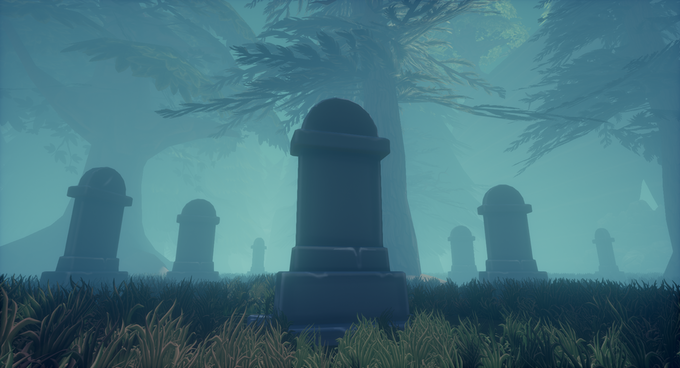 This gravestone in Vigil Pines could be marked with YOUR name