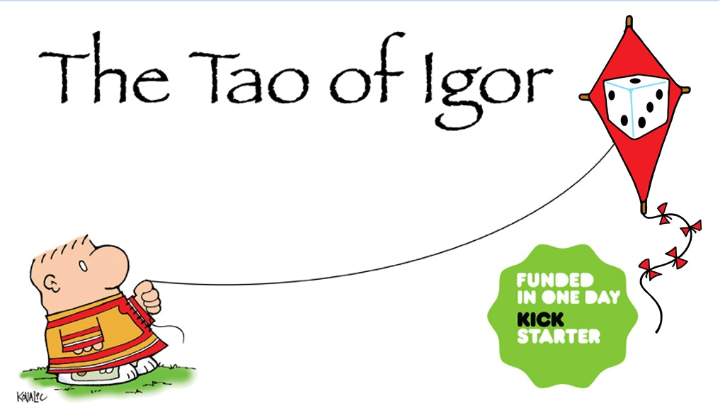 THE TAO OF IGOR: a new Dork Tower collection by John Kovalic project video thumbnail