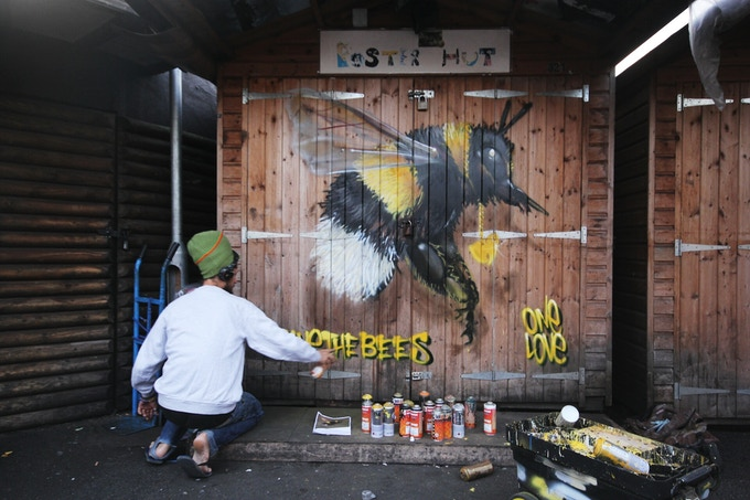LOUIS MASAI - SAVE THE BEE PROJECT