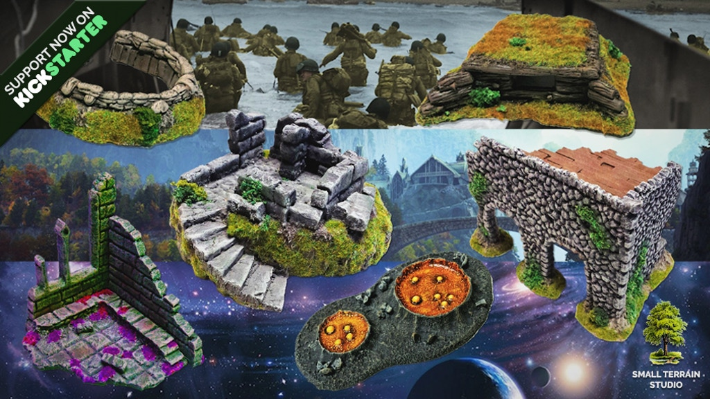 The Small Terrain Studio Project project video thumbnail