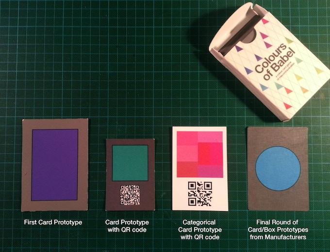 History of card prototypes