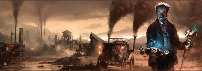 Click Here to go to the Kickstarter page for Deadlands: Good Intentions!