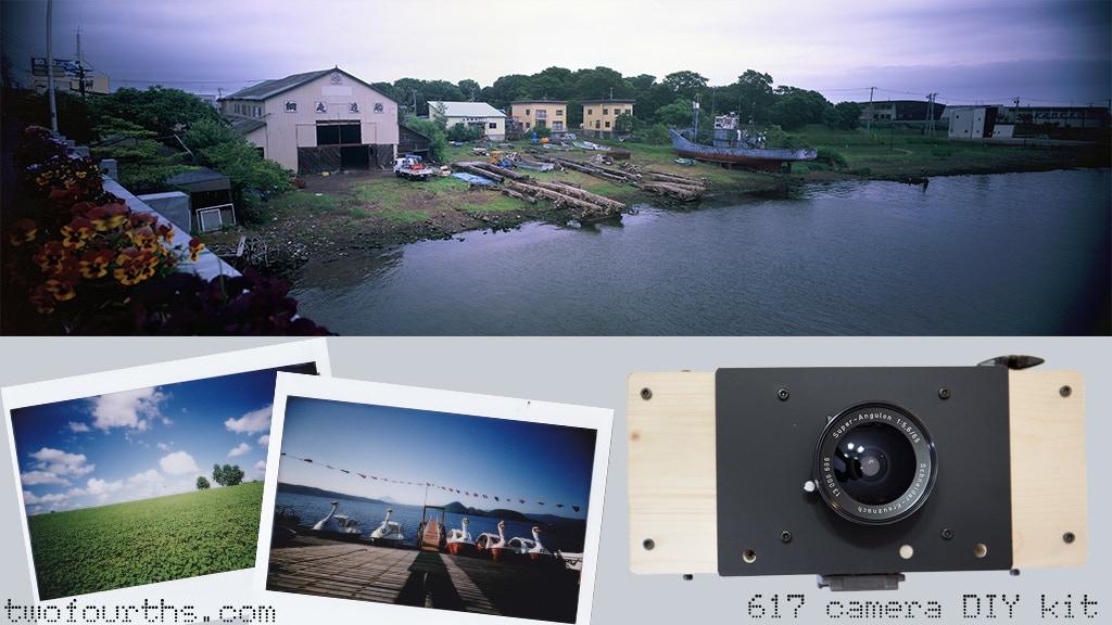 617 film DIY Camera, challenges 80megapixels (equivalent) project video thumbnail