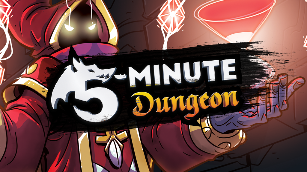 5-Minute Dungeon: The Most Fun You Can Have in 5 Minutes miniatura de video del proyecto