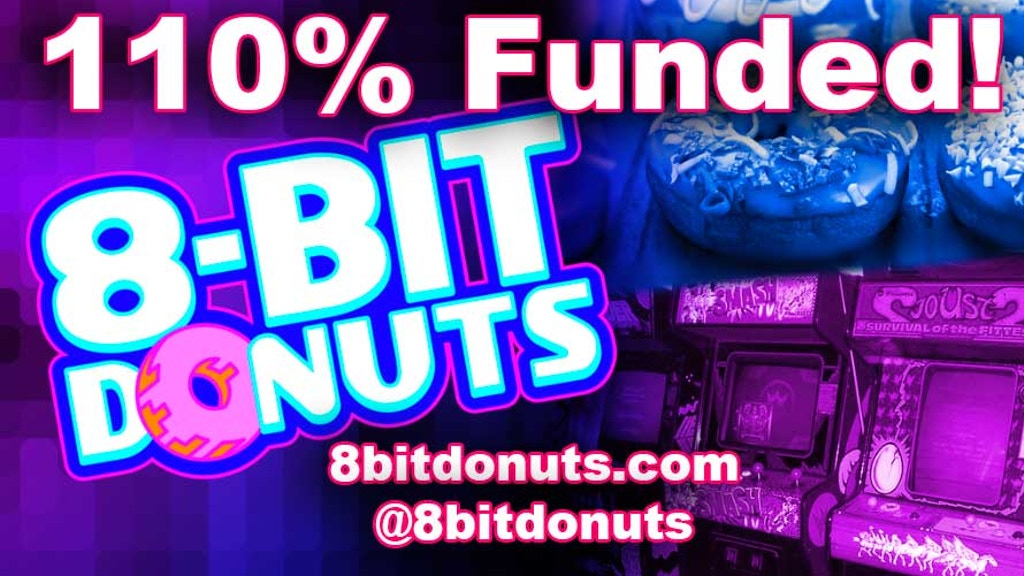8-Bit Donuts: Gourmet Donuts, Coffee, and 80s Arcade Games! project video thumbnail