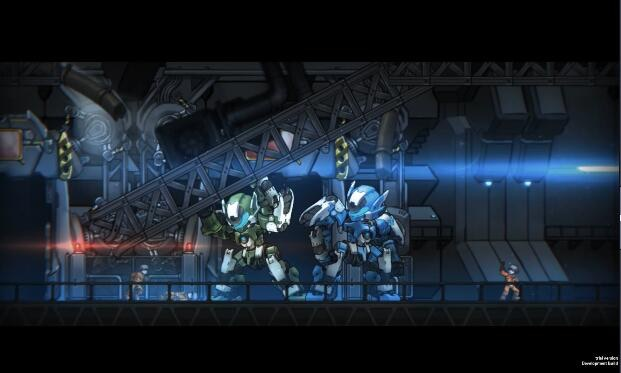 Code: HARDCORE - The Coolest 2D Mecha Battle Game by Rocket Punch
