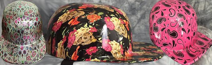 Sugar Skulls, Roses & Skulls, & Pink Paisley w/Paw Prints
