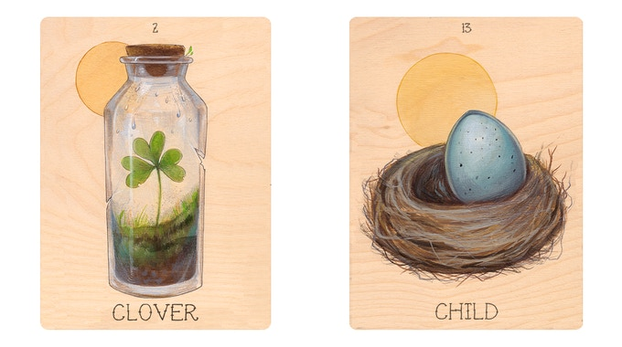 The Seeker's Lenormand Deck by Andy Swartz — Kickstarter