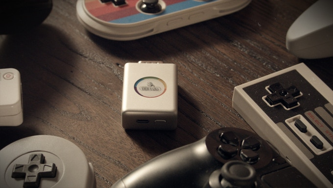 Compatible with all of 8Bitdo's controllers and next gen controllers, too.