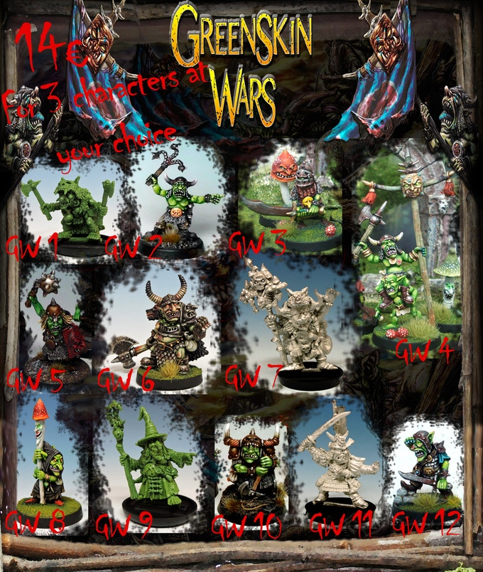 Greenskin Wars By Diego Serrate Pinilla —Kickstarter