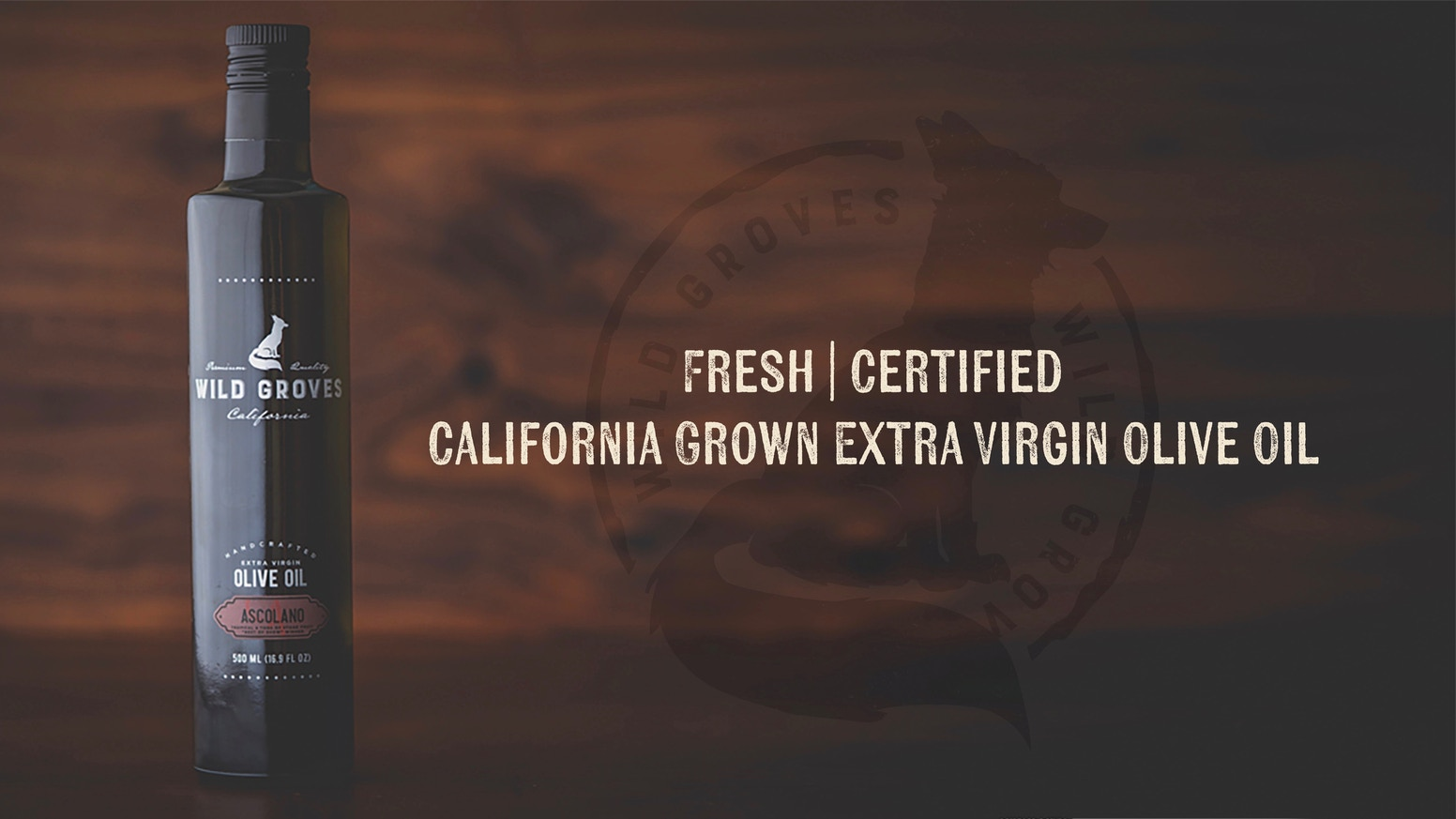 "Certified, Fresh, 100% Authentic California Extra Virgin Olive Oil, Awarded ""Best of California,"" Including Gourmet Food - Family Owned"