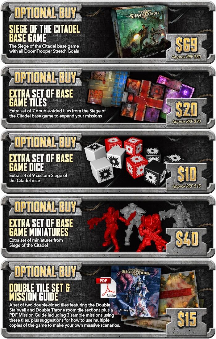 Siege of the Citadel - 2nd Edition Techno Fantasy Boardgame