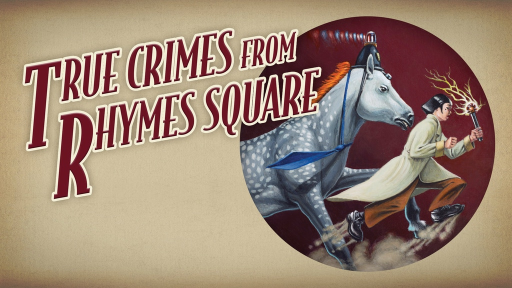 True Crimes from Rhymes Square Limited Collector's Edition project video thumbnail