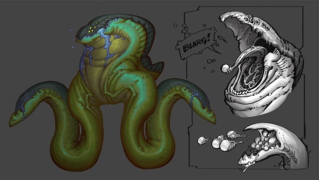 Final concept of a mother parasite