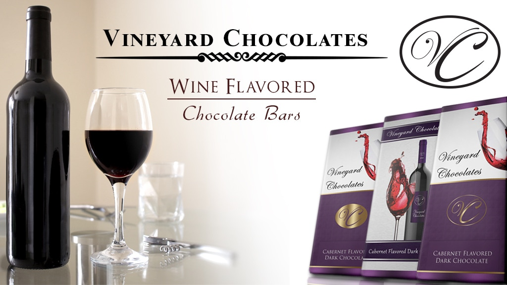 Vineyard Chocolates - Wine Flavored Chocolate Bars project video thumbnail