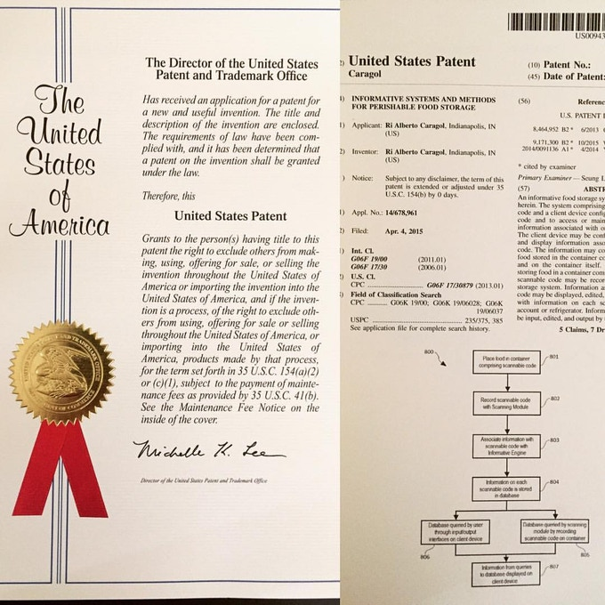 Patent Awarded!