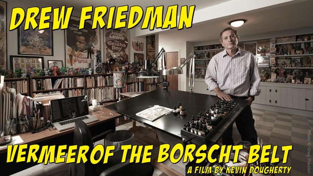 Drew Friedman: Vermeer of the Borscht Belt project video thumbnail