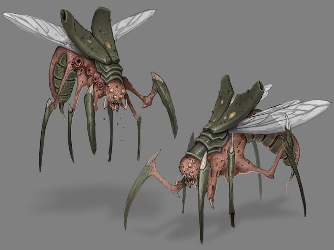 The Prime Hive Flying Swarm