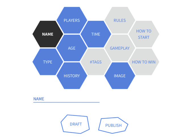 A look at the GAME CANVAS that lets you add and share your creative game ideas.