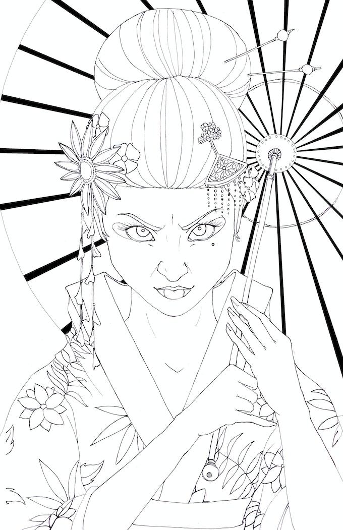 Geisha - Indi Martin, 2016