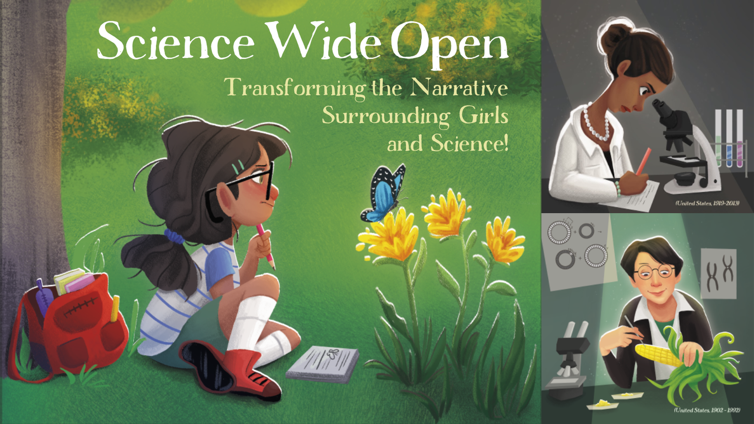 Children's books that inspire curiosity with true stories of women scientists and also teach basics of Biology, Chemistry and Physics