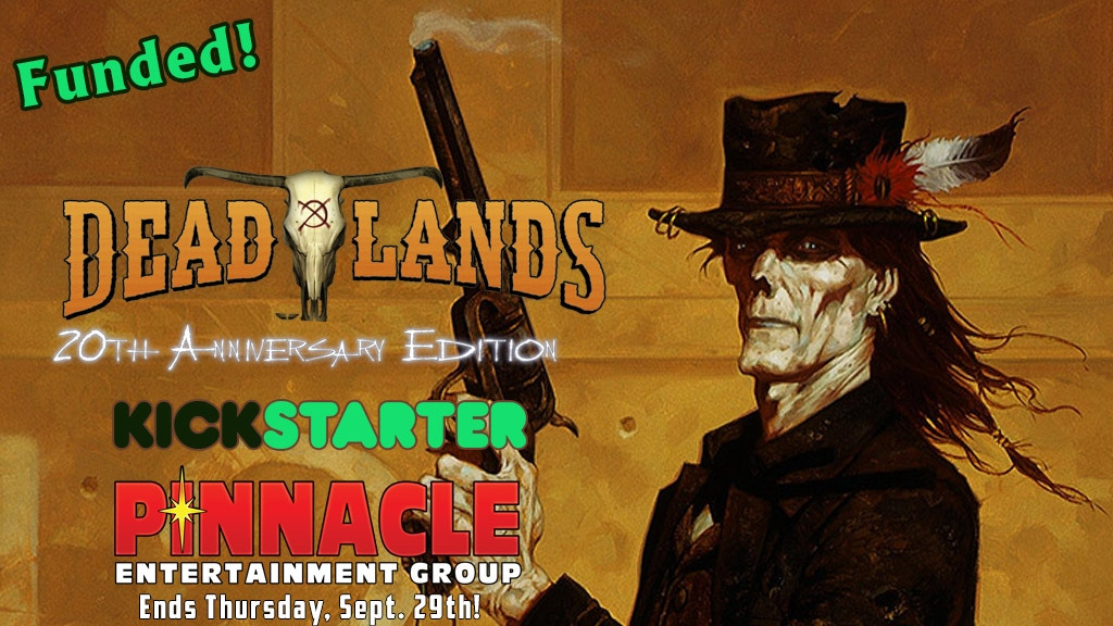 Deadlands Classic 20th Anniversary Edition project video thumbnail
