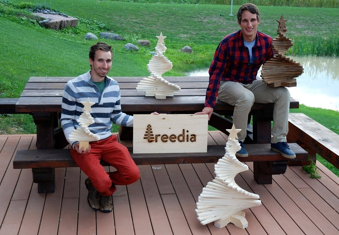 Chris & Nico - treedia Founders