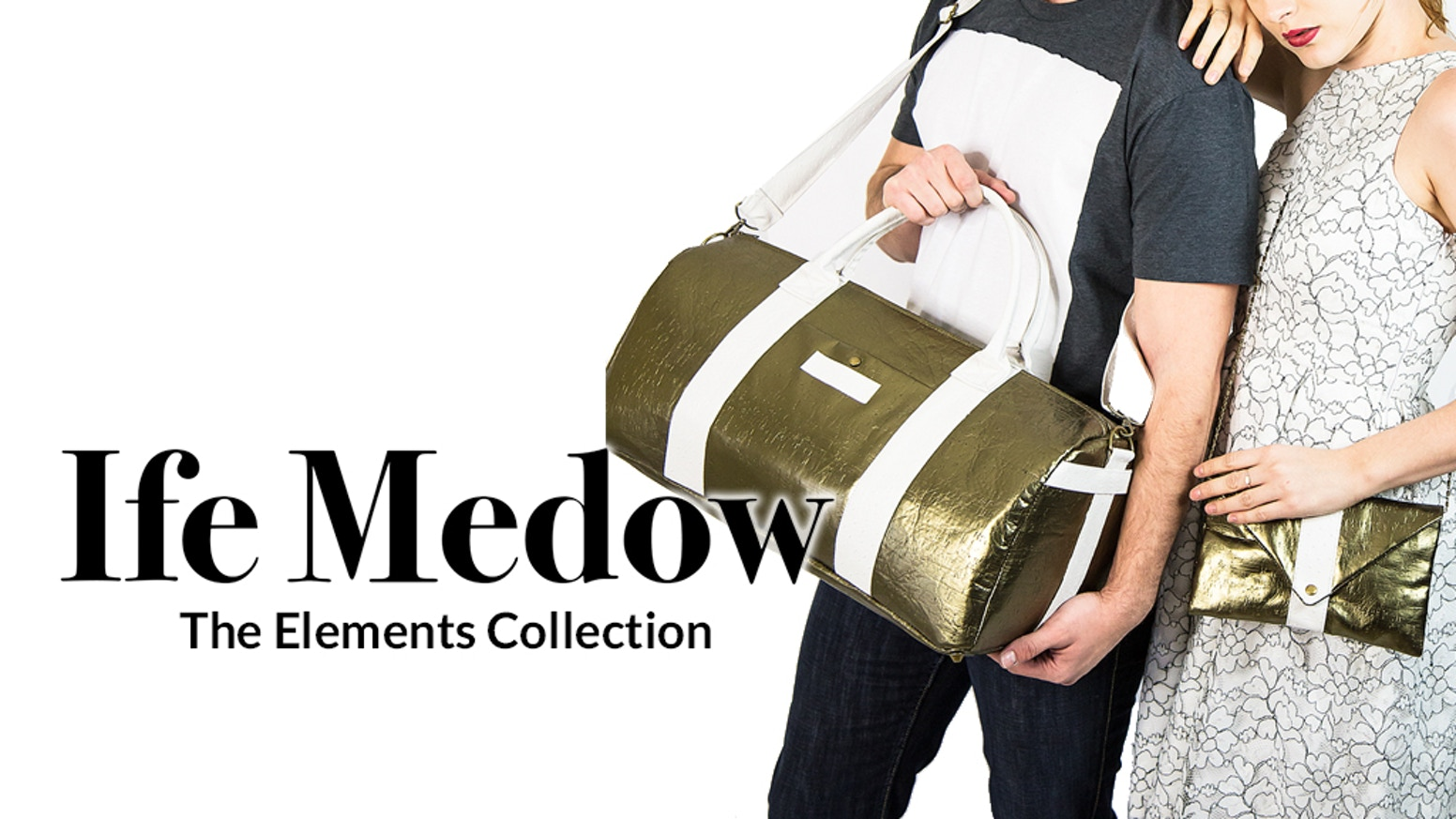 Ife Medow: Gender-neutral accessories & handbags with RFID protection. Crafted in the USA of sustainable materials.