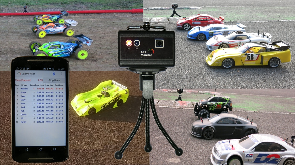 LapMonitor: Multi-user lap timing and counting system project video thumbnail