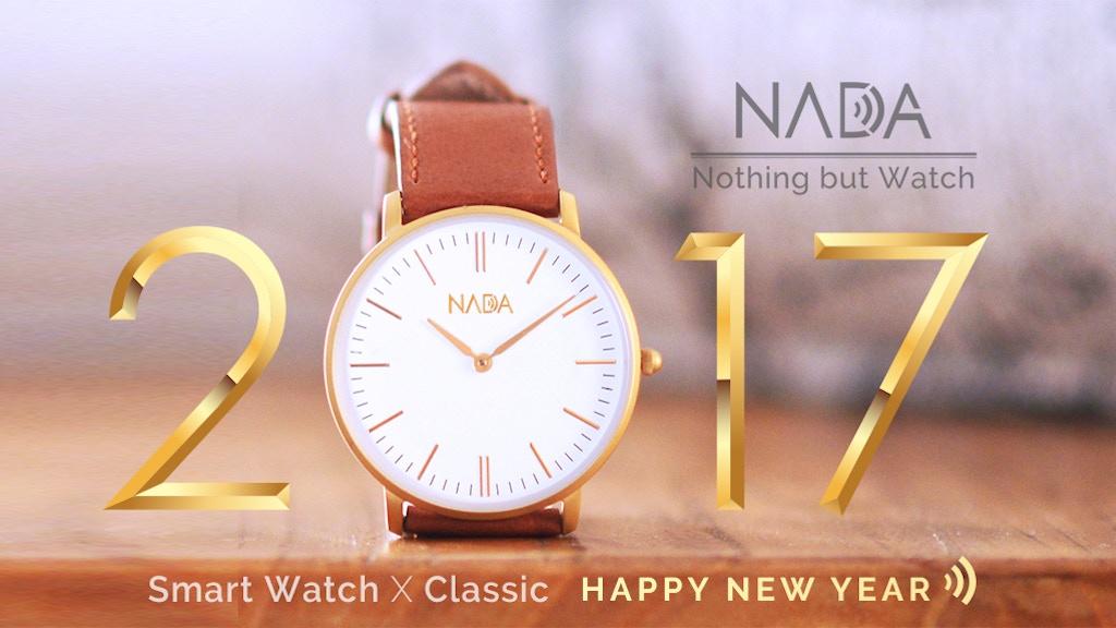 Swiss Movement Classic Look Smart Watch - Nada project video thumbnail