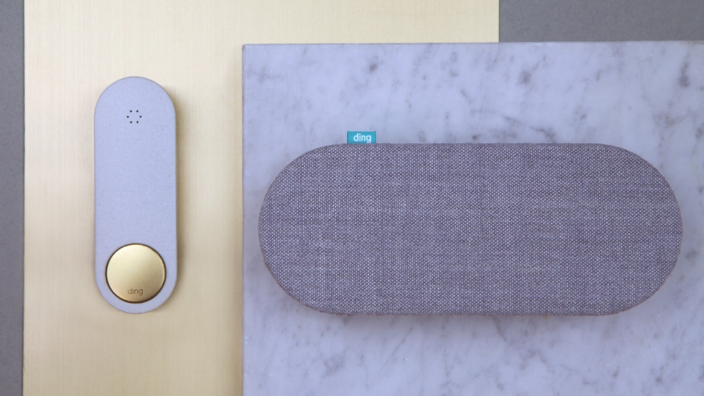 Ding, a beautifully simple smart doorbell project video thumbnail