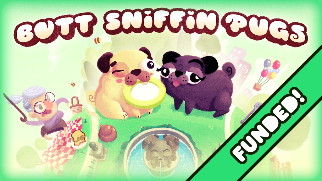 Butt Sniffin Pugs project video thumbnail