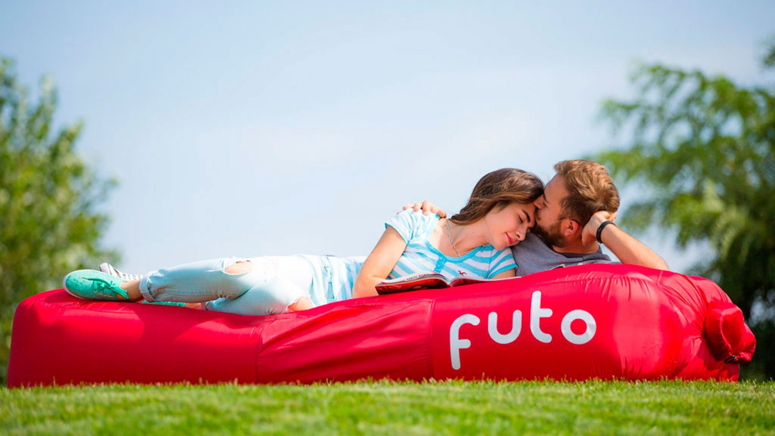 The last air mattress and pillow you will ever need! Easy to inflate, comfortable, durable, colorful and easy to carry!