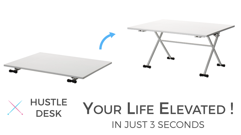 Your Life Elevated W Hustle Desk Versatile Standing