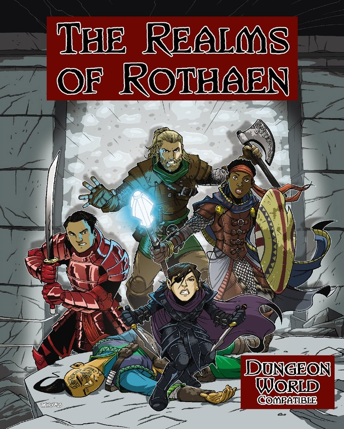 Enter The Warrior S Gate 2 Subtitle Indonesia: Rothaen: A Dungeon World Compatible Setting & RPG Audio