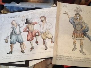 Harriet's design sketches 1