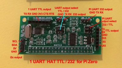 extra 1 UART HAT