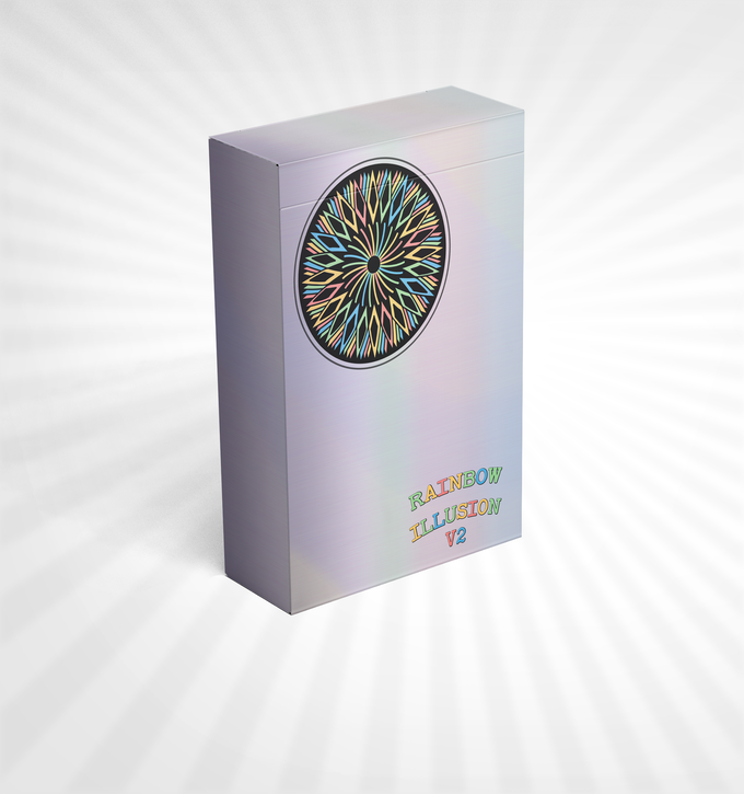 Rainbow Illusion Playing Cards V2 Relaunch By Landry
